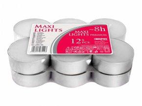 Svíčka čajová MAXI litá 12ks