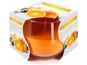 57101 svicka vonna ve skle vanilka a pomeranc
