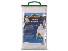 Textilie k rychlení bílá - tunel bílá