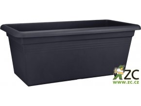 Truhlík Green Basics Garden XXL - living black 100cm