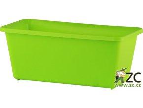 Truhlík malý - hráškově zelený 20cm