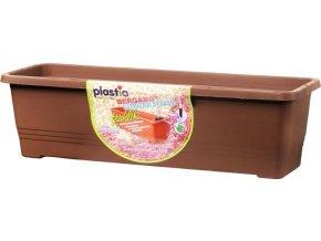 Truhlík samozavlažovací Bergamot - čokoládový 80cm