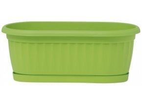 Truhlík Similcotto mini s miskou - zelený 32cm