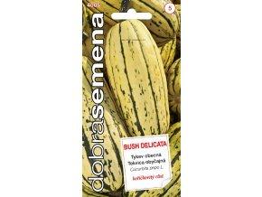58961 tykev muskatova bush delicata 10s dobra semena