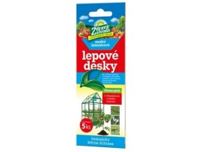 Zdravá zahrada - Lepové desky modré interiérové - 5ks