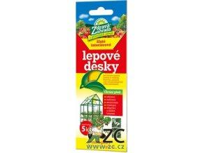 Zdravá zahrada - Lepové desky žluté interiérové - 5ks