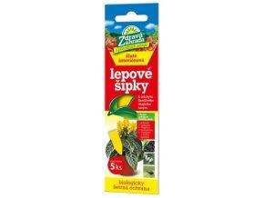 Zdravá zahrada - Lepové šipky žluté - 5ks