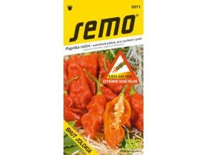 Paprika zeleninová pálivá - Bhut Jolokia 15s /SHU 1050000/