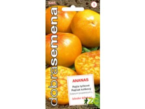 Rajče tyčkové - Ananas 15s - DOBRÁ SEMENA