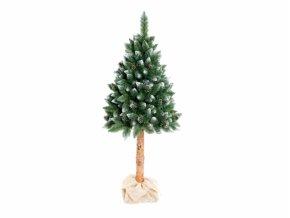 3773 1 stromek borovice umely sisky a stribrne konce kmen 180cm