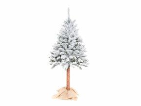 3791 1 stromek vanocni smrk umely zasnezeny stojan kmen 180cm