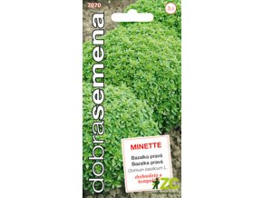 64796 1 bazalka prava minette drobnolista 0 6g dobra semena