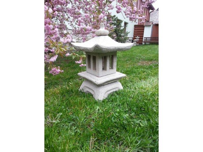 Japonská lampa 09 (ruční práce)