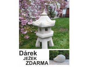 japonska lampa jezek zdarma