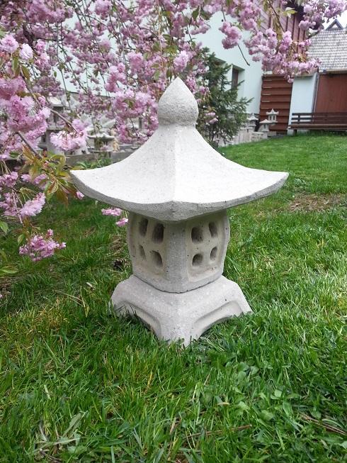 Japonská lampa 38 (ruční práce)