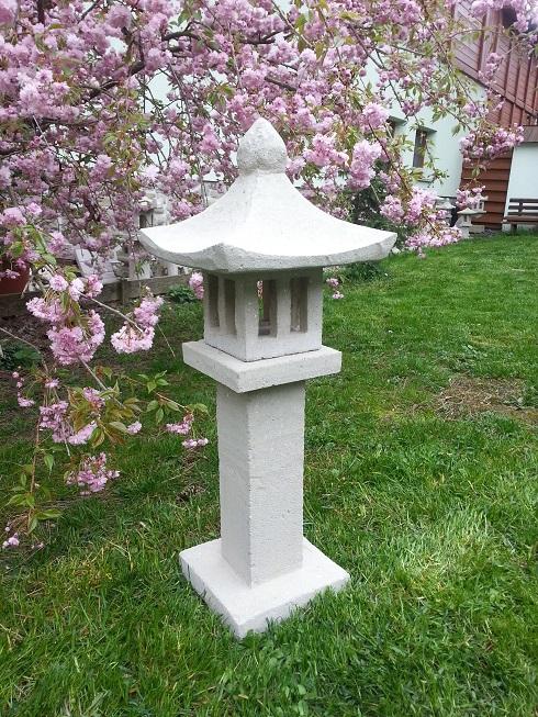Japonská lampa 11 (ruční práce)