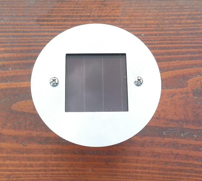 Náhradní solární světlo kulaté
