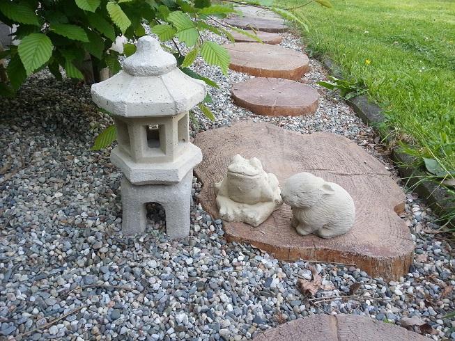 Dárkový set japonská lampa + dvě zvířatka