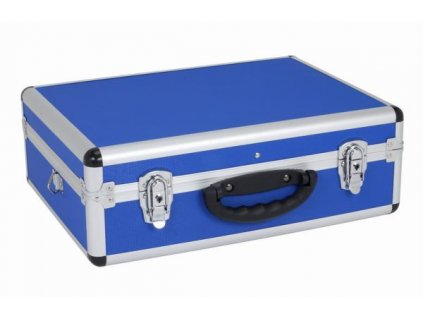 24199 prm10102bl hlinikovy kufr se zamky 460x330x160 mm modry