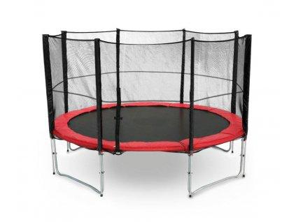 26350 trampolina g21 s ochrannou siti 305cm cervena