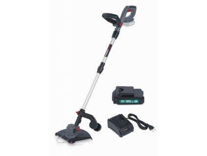 POWEBG7540SET - AKU vyžínač 18V LI-ION 250mm  plus  nabíječka  plus  baterie 18V 1,5mAh