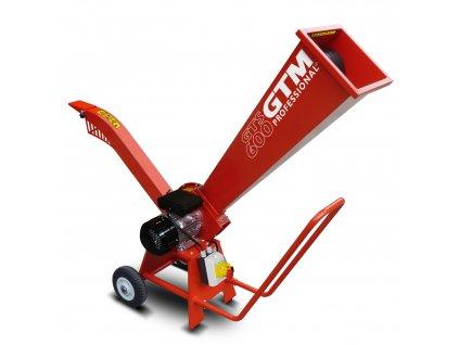 GTM GTS 600 E - drtič dřeva s elektrickým motorem