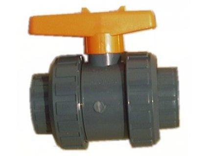 22025 2 cestny kulovy ventil d 50 mm