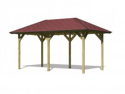 69011 zahradni altan karibu lillehammer 2 68818 vc cerveneho stresniho sindele