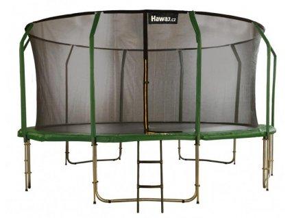 trampolina hawaj 457 cm s vnitrni ochrannou siti schudky zdarma 52039