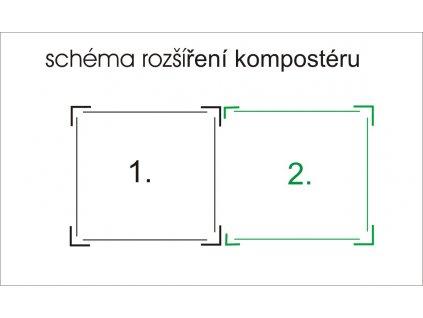 73880 limes rozsirovaci modul pro komposter k 70 r