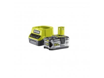 Ryobi RC18120-150 - sada 18 V lithium iontová baterie 5 Ah s nabíječkou RC18120 ONE+