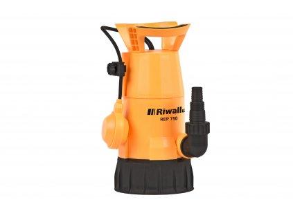 Riwall PRO REP 750 - univerzální ponorné kalové čerpadlo 750 W
