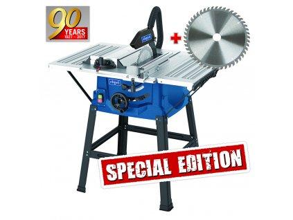 Scheppach HS 100 S Special edition - stolová pila + kotouč pro jemné řezy