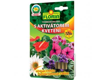 FLORIA Tyčinkové hnojivo s aktivátorem kvetení 12 ks