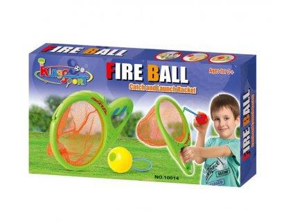 48371 hraci set g21 sitky na chytani a strileni micku zelene