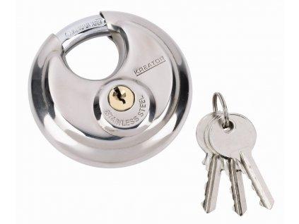 KRT557013 - Visací zámek kulatý 70mm