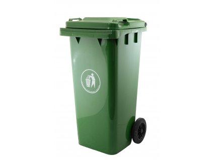 26279 popelnice g21 ga 240 tmave zelena