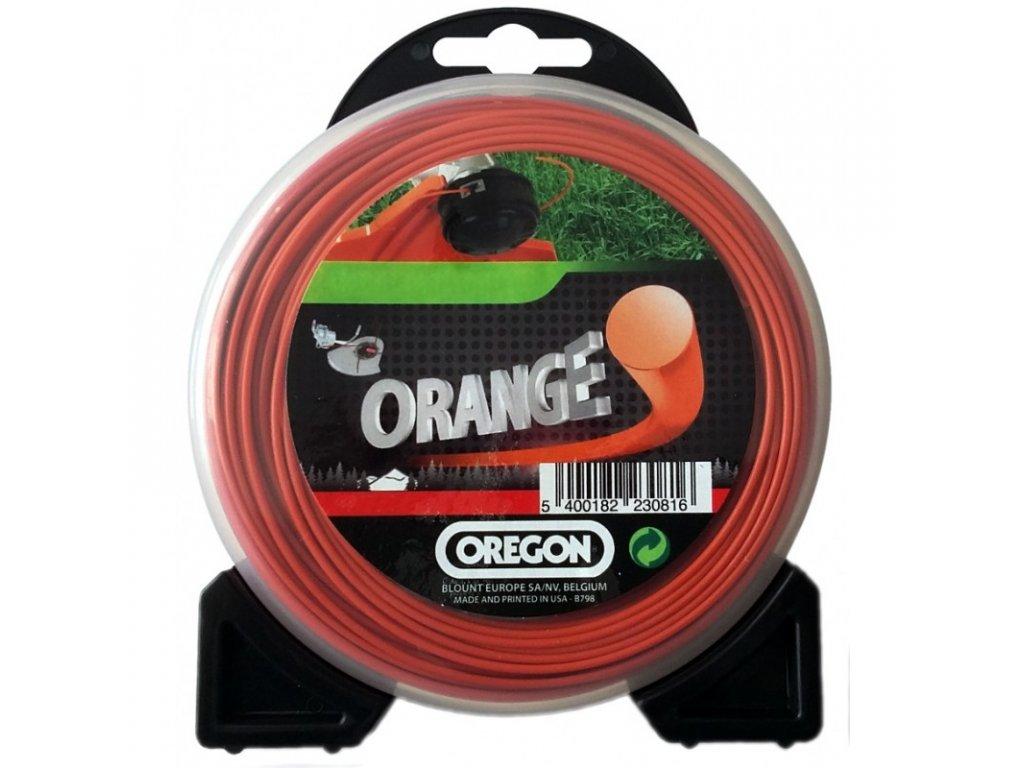 zaci struna 27 mm x 12 m oranzova kulata