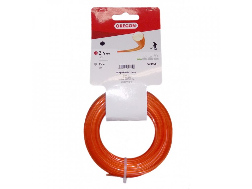 zaci struna 24 mm x 15 m oranzova kulata 593654