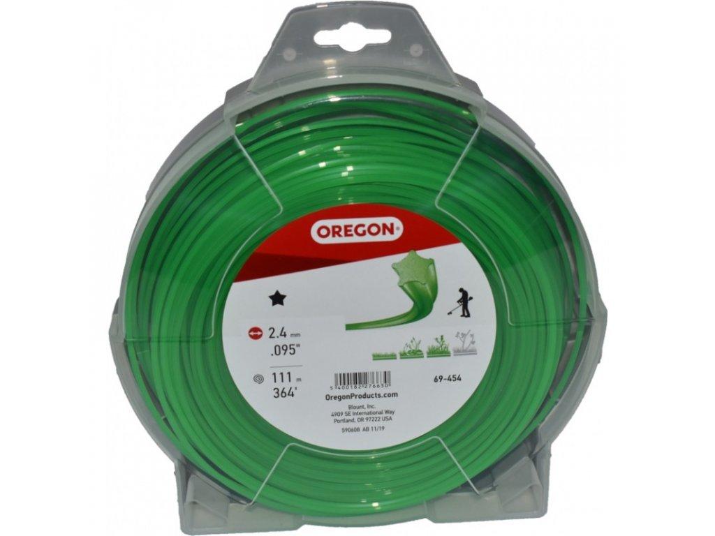 zaci struna 24 mm x 111 m zelena hvezda 69 454v