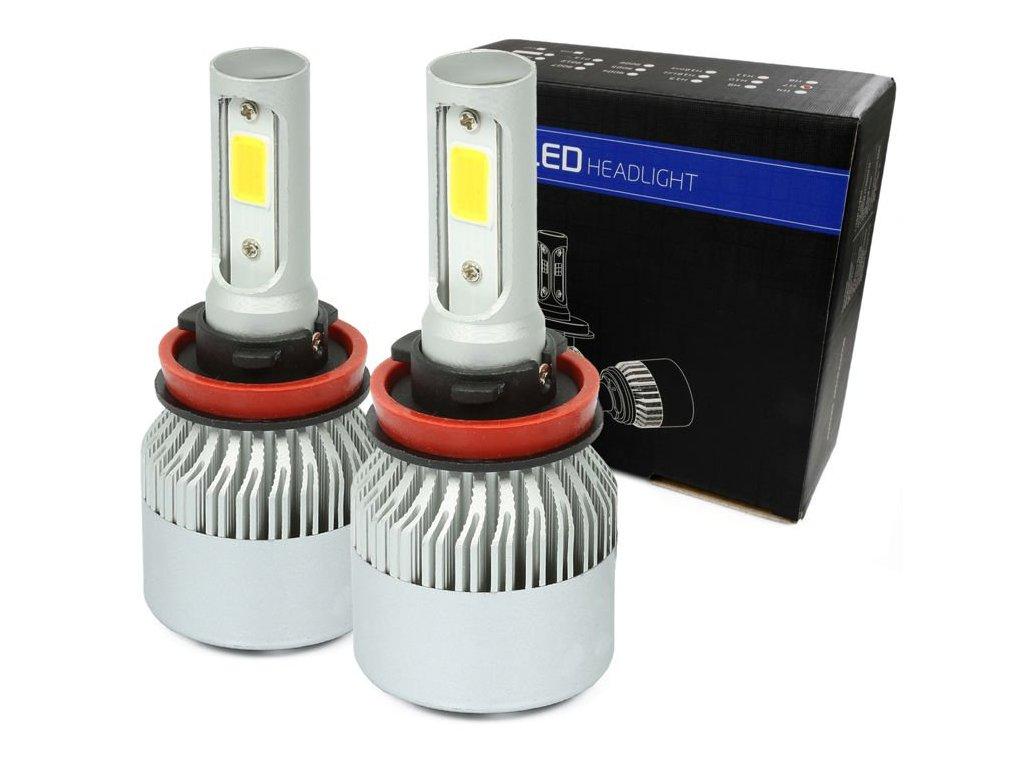LED H9 H11 S2 COB 36W 16000 lm 4