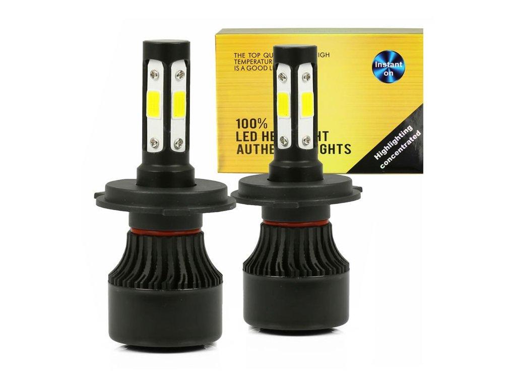 LED H4 S4 COB 80W 16000 lm 1