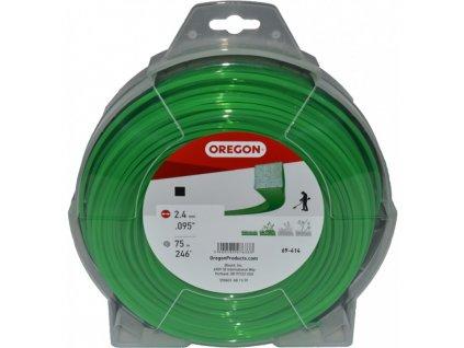 zaci struna 24 mm x 75 m zelena ctverec 69 414v