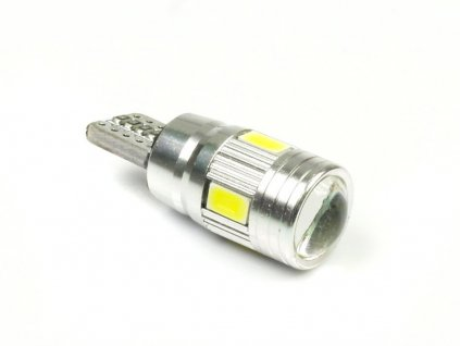 LED W5W T10 6 SMD 5630 SUPER CAN BUS s cockou
