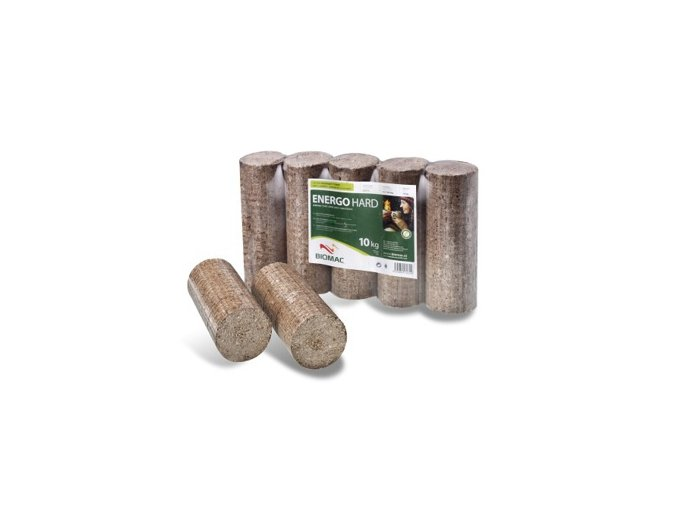 ENERGO HARD - dřevěné brikety