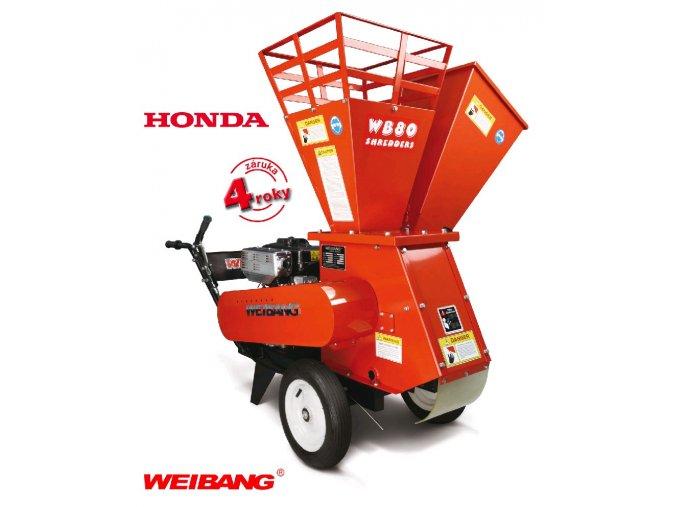 WEIBANG WB SH 8013 H - profi drtič dřeva