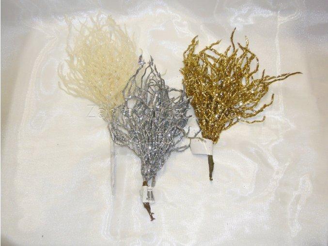 Dekorace - vánoční přízdoba - korál