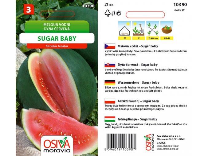 MELOUN SUGAR BABY - vodní zelený 0.5 g