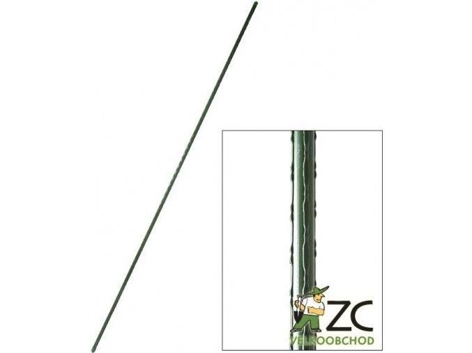 Tyč k rostlinám Rosteto - 180 cm zel. tl. 16 mm