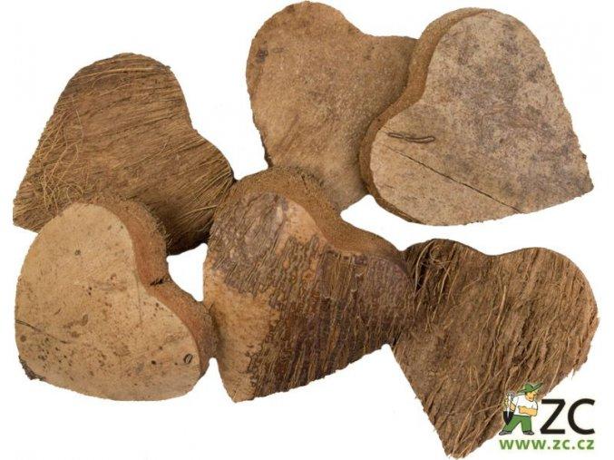 Dekorace - přízdoba - Kokosové srdce